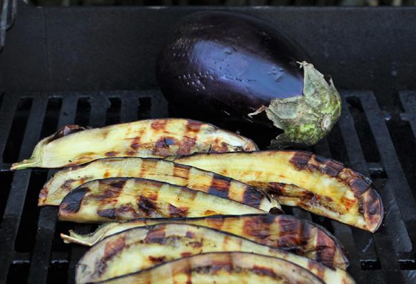 Veg grilled Eggplant Michele Redmond