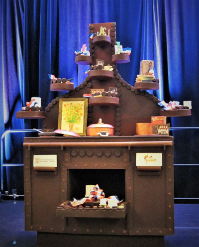 Jacques Pepin Lifesized Cake at IACP 2015