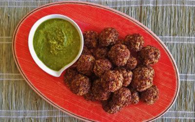 Quinoa Boulettes vs Ikea Swedish Meatballs