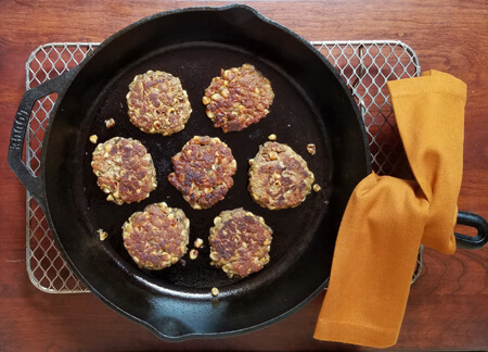 Chickpea Corn Cakes: Crave-worthy Carbs