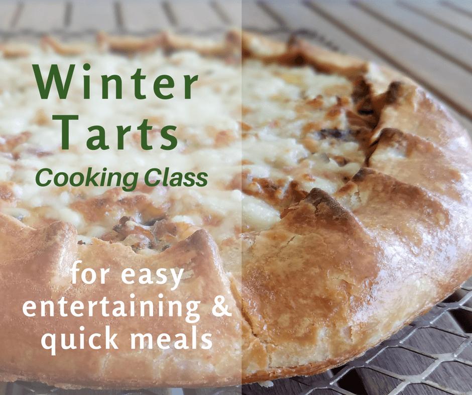 Winter Tarts cooking class