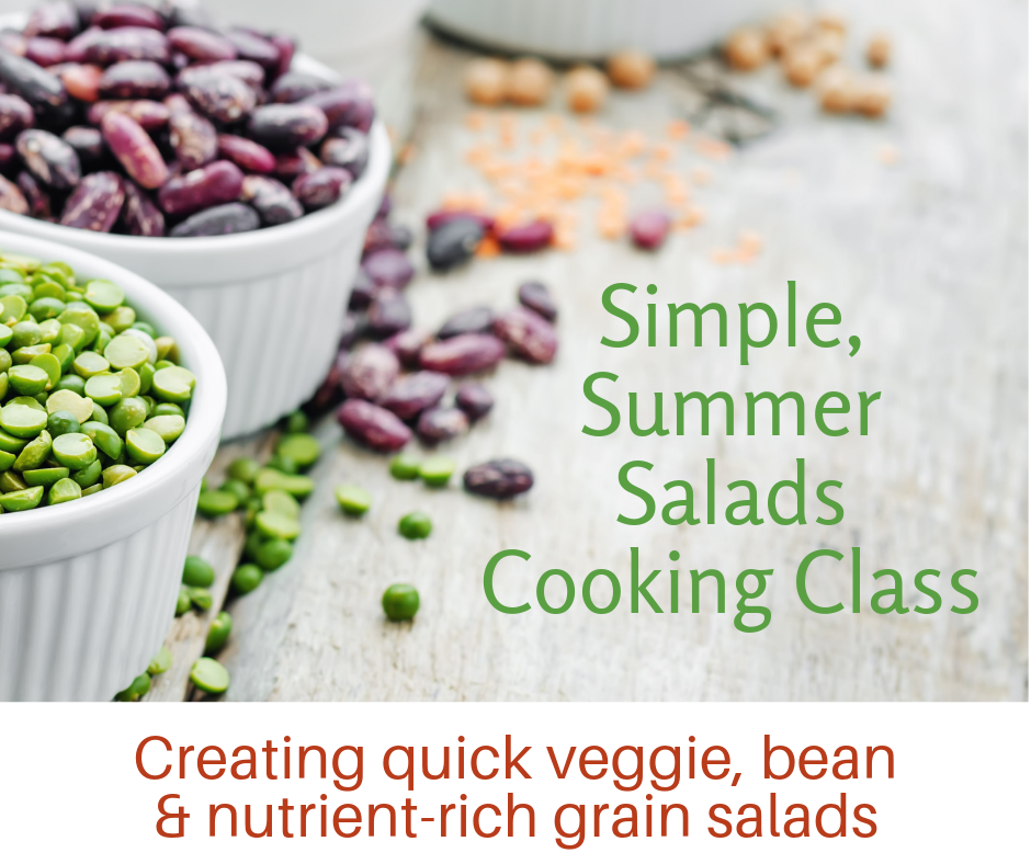 Simple summer salads cooking class