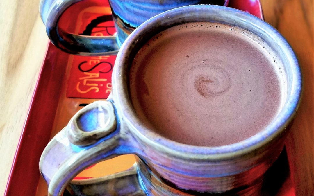 Lazy, Lighter Chocolat Chaud—Hot Chocolate with French Airs
