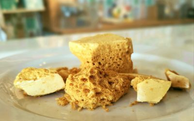 Easy homemade Honeycomb for a Flavorful Sweet Treat