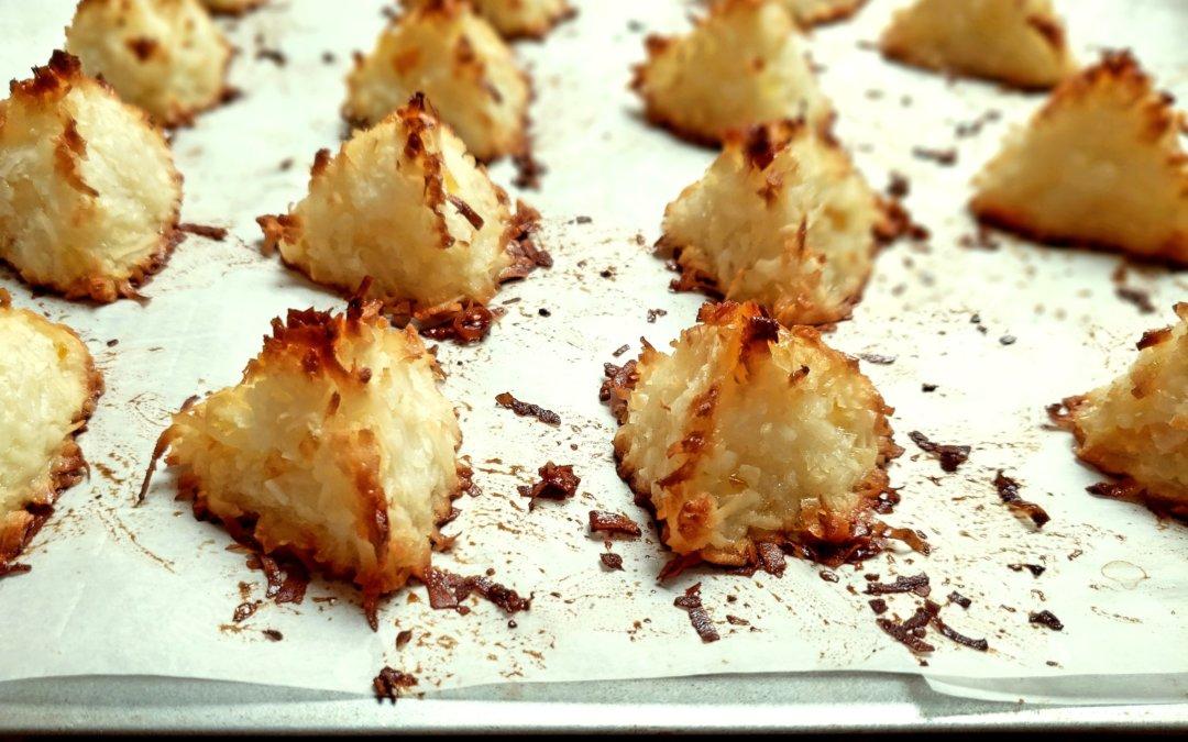 Marmalade Macaroons or Rochers à la Noix de Coco