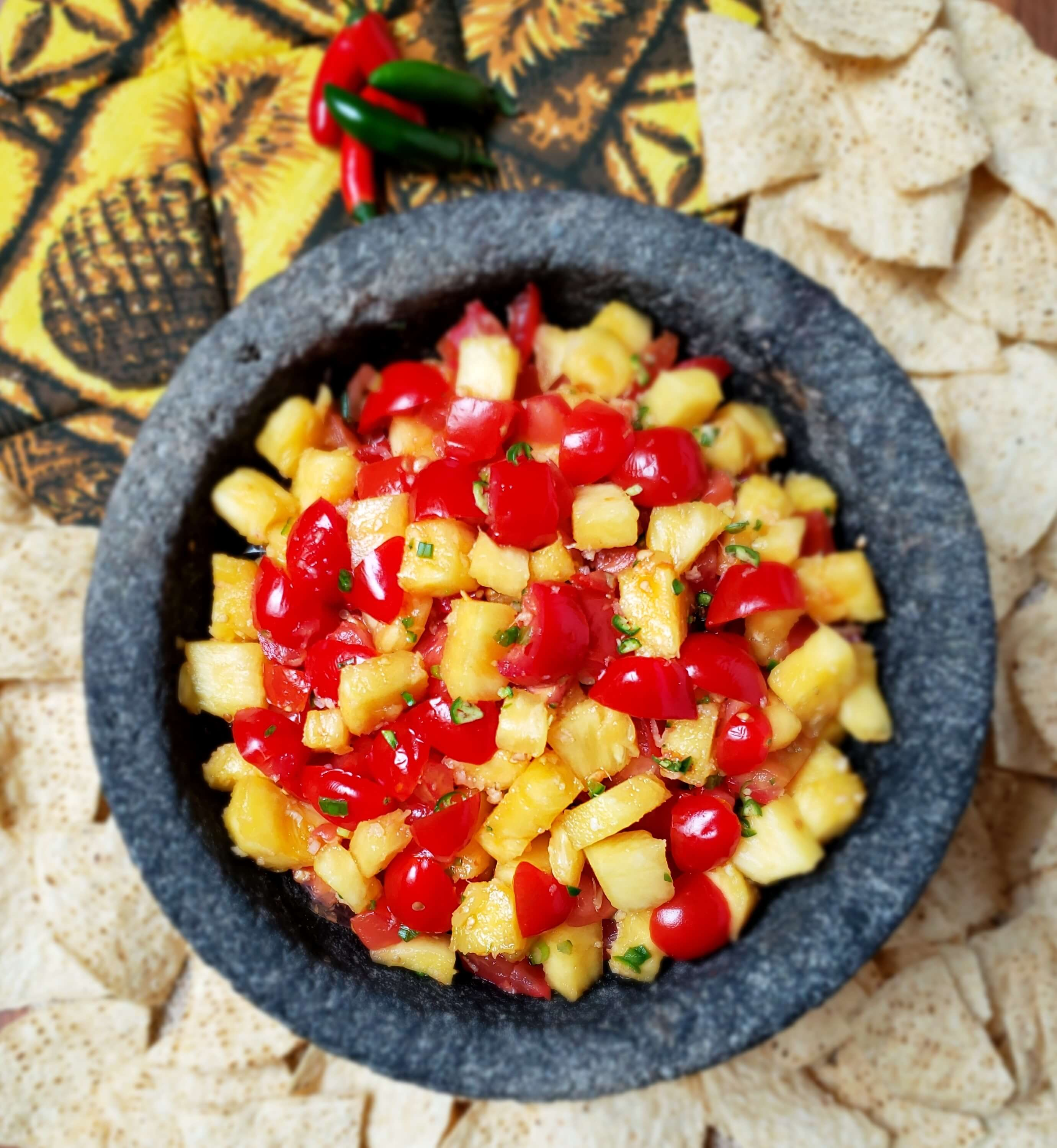 Pineapple ginger salsa recipe