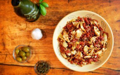 Artichoke Puttanesca–Forget its Saucy Reputation
